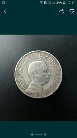 Італія2ліри1912 серебро