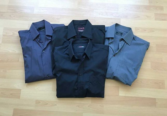 Camisas Zara man homem novas
