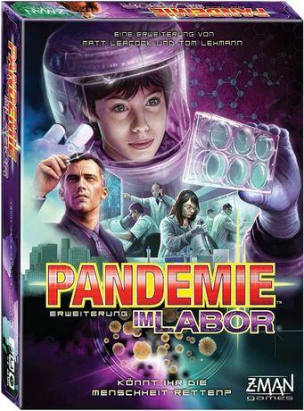 Asmodee 691120 Pandemic in The Lab gra planszowa