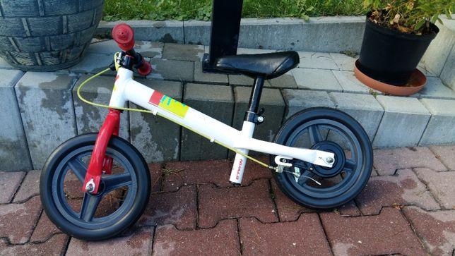 "Rowerek biegowy B'Twin Run Ride 10"" z hamulcem"