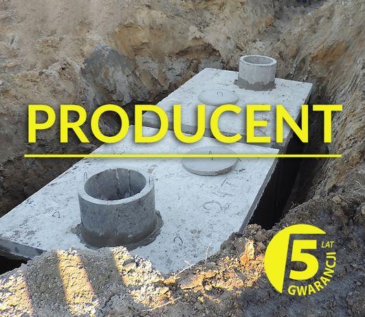 Zbiornik betonowy 10m3 na gnojowicę gnojówkę szambo betonowe MIELEC