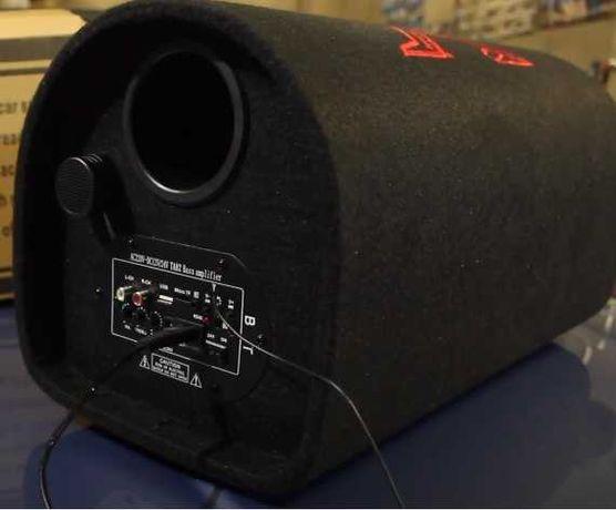 Автомобильный сабвуфер ZPX 8″ Cm 800W с усилителем и Bluetooth