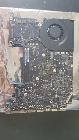 Apple Macbook Pro logicboard motherboard A1278 i5 mid 2012 avariada