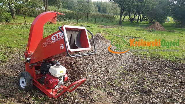 Rębak do gałęzi rozdrabniacz Honda GTS 1300H wynajem wypożyczalnia