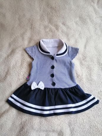 Sukienka dla dziewczynki rozmiar 74