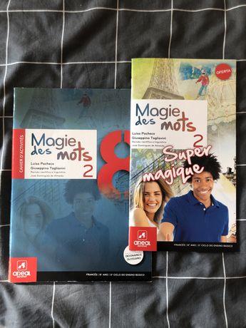 Livro caderno de actividades 8.º ano francês