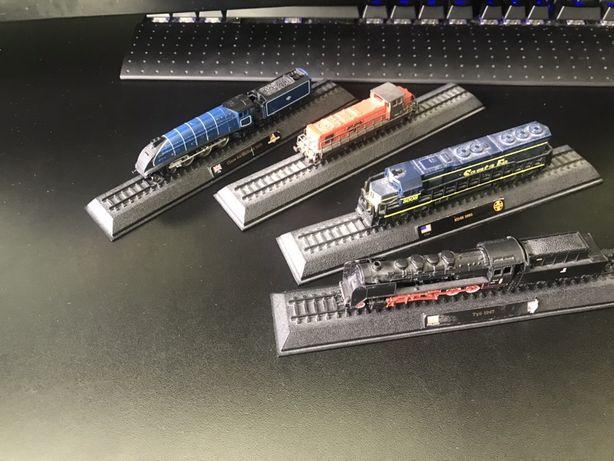 Modele pociągów PAROWÓZ TY5 1947 + 3 inne