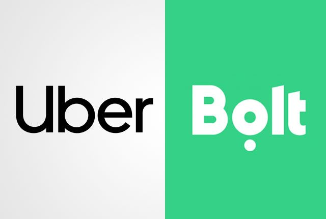 UBER Bolt Uklon аккаунт