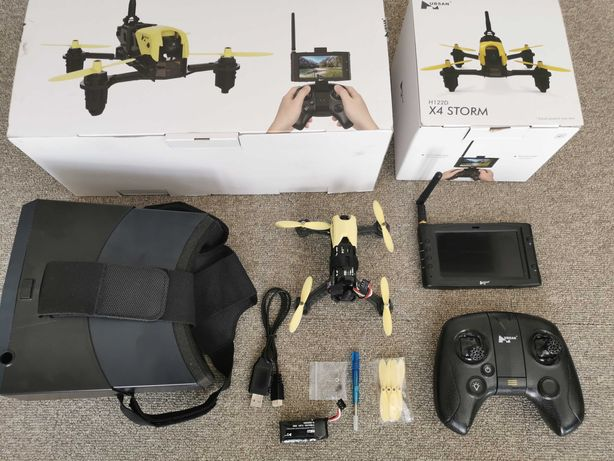 Dron hubsan h122d gogle