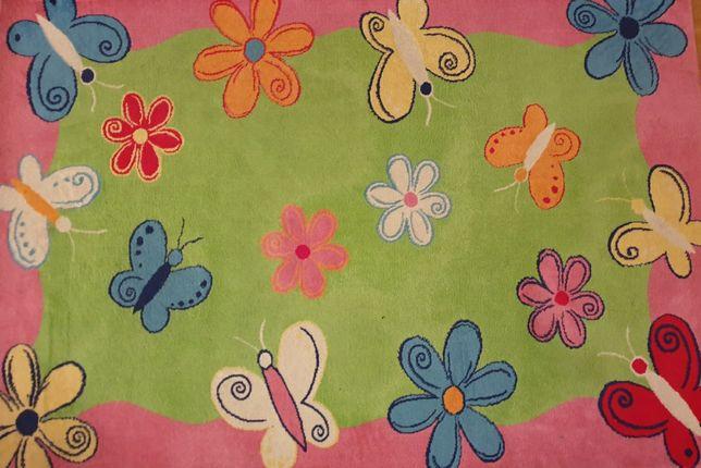 Dywan dla dziecka 137x200, kolorowy dywanik