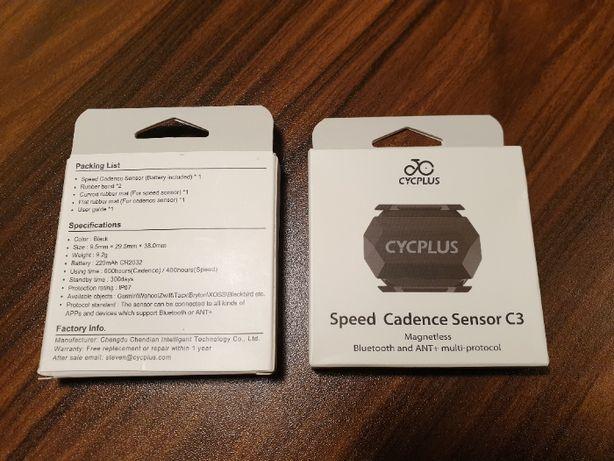 2 x CYCPLUS C3 Czujnik prędkości i kadencji