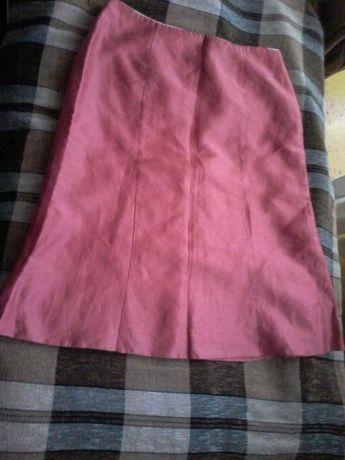 Льняная юбка р.46