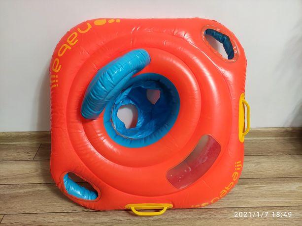 Kółko z siedzeniem do pływania dla dziecka do 15kg