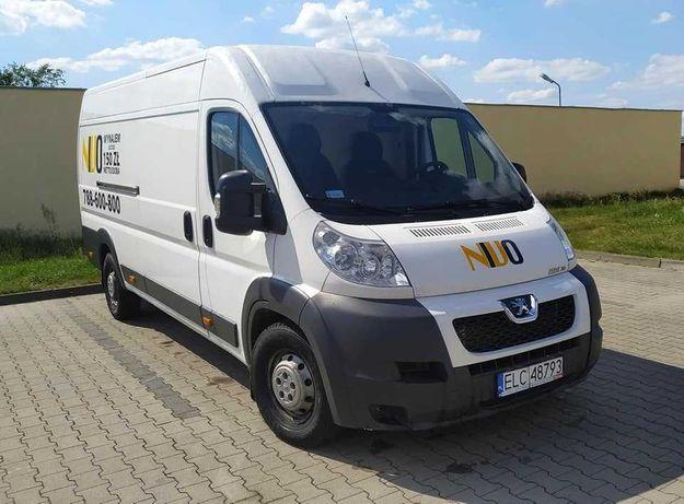 Peugeot Boxer 3.0HDI 140KM na wynajem Wypożyczalnia