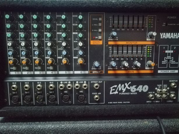 Sprzedam powermixer yamaha EMX 640