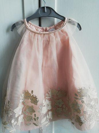 Nowa śliczna sukienka 3-6 miesięcy roz.62 68 Catarine Malandrino