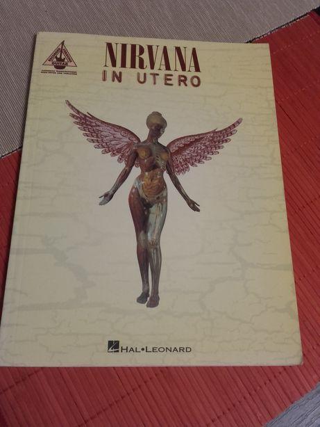 Nirvana in Utero-nuty na gitarę