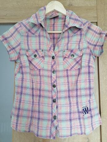 Koszula z krótkim rękawem XS