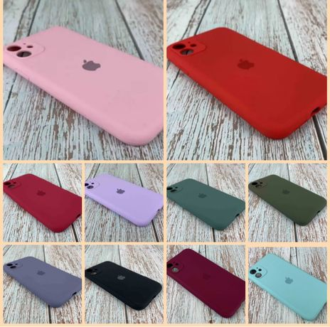 Чехол Silicone Case Fullдля iphone 7/8/se/x/xs/11/11 pro/11 pro max