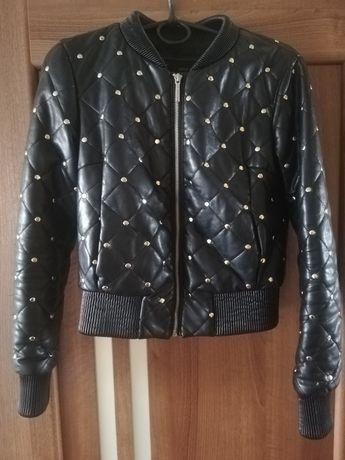 Терміново Продам класну куртку з еко шкіри