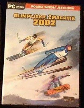 14 płyt z grami! Olimpijskie Zmagania 2002 +gratis 13 płyt Cyber Mycha