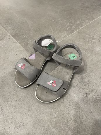 NOWE Sandały skórzane Lamino