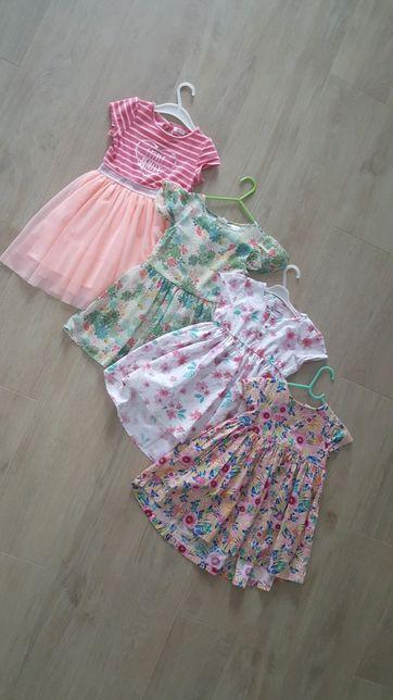 4x sukienka rozmiar 110