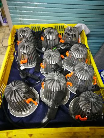 10 Projectores Led 4000k 15.2 W