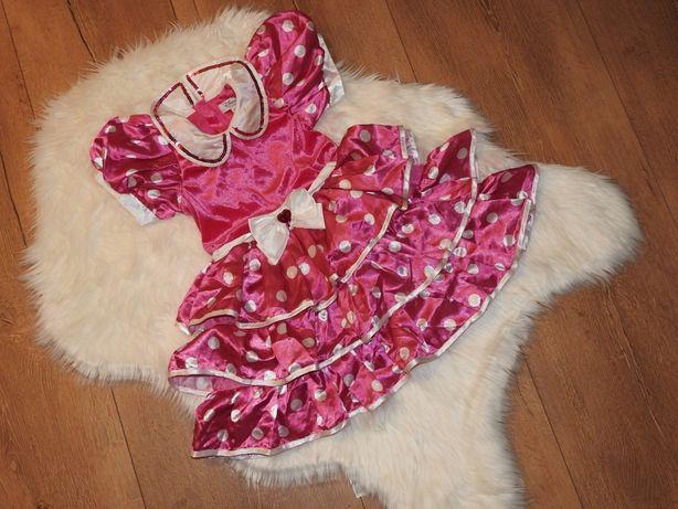 6-8 lat myszka miki mickey MIKI disney store sukienka falbanki
