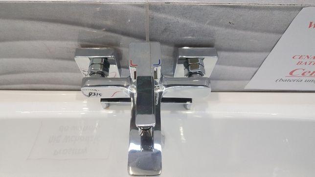 Bateria wannowa, umywalkowa Laveo, kolekcja Revelo, polski producent