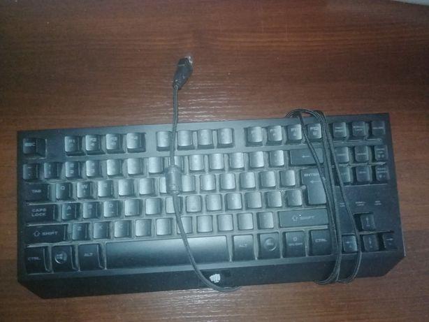Klawiatura fury hurricane tkl led plus myszka
