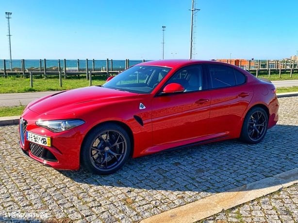 Alfa Romeo Giulia 2.9 Bi-Turbo Quadrifoglio AT8
