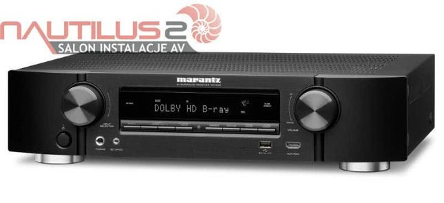 Marantz NR1510 czarny amplituner kina domowego wielokanałowy 5.2 slim
