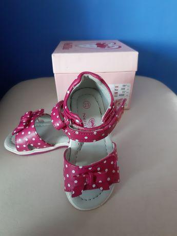 Buty sandały Nelli Blu dla dziewczynki