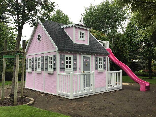 Domek drewniany, ogrodowy Naukowiec, plac zabaw dla dzieci od Dżepetto