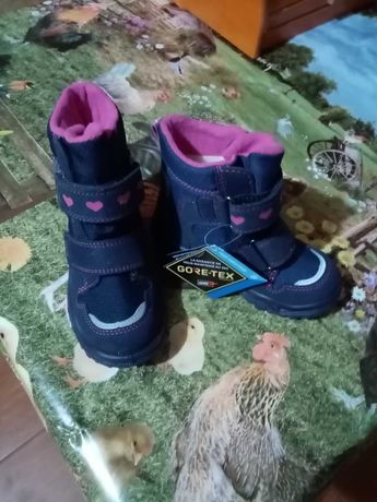 Nowe buty Gore-tex dla dziewczynki długość wkładki 15cm
