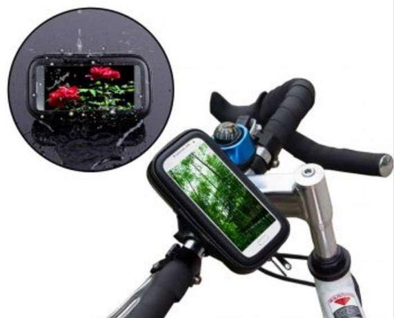 Bolsa Telemóvel/GPS Impermeável - Bicicleta ou Mota - ARTIGO NOVO