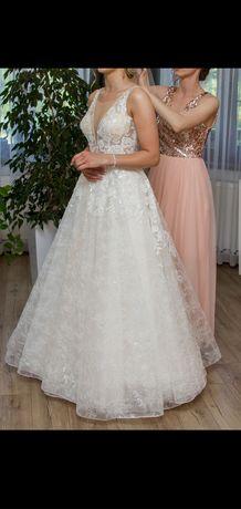 Suknia ślubna princessa :)
