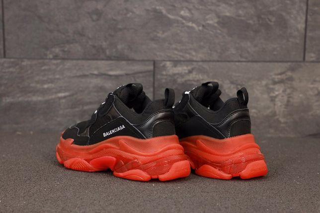 Balenciaga Triple S Black/Red 36-40 buty trampki tenisowki sneakersy