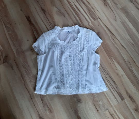 Bluzeczka biała 48