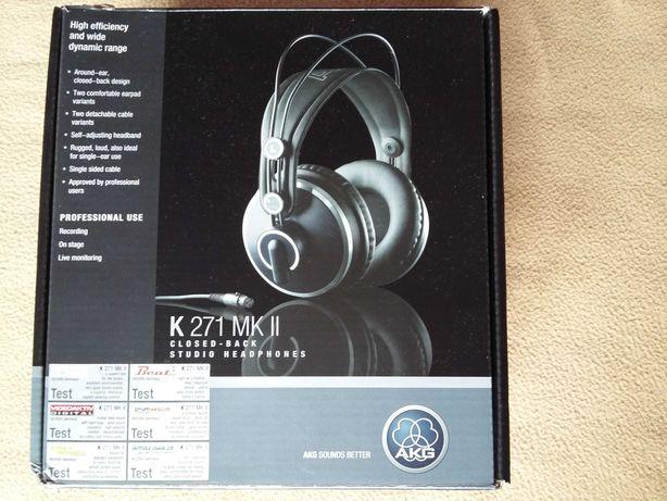 Słuchawki AKG K271 MKII