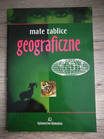 Książka Małe tablice geograficzne wyd. ADAMANTAN
