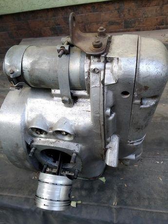 Двигатель на мото Урал