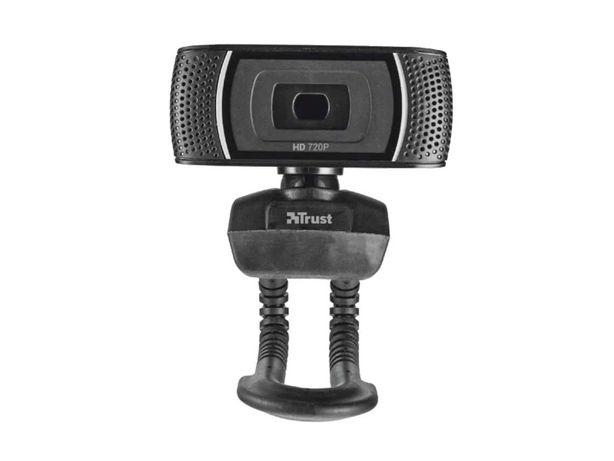 Webcam TRUST Trino (HD - 8 MP - Microfone Incorporado)