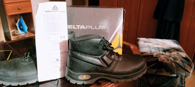 Skórzane buty robocze JUMPER2 S1P - TRZEWIK - 46