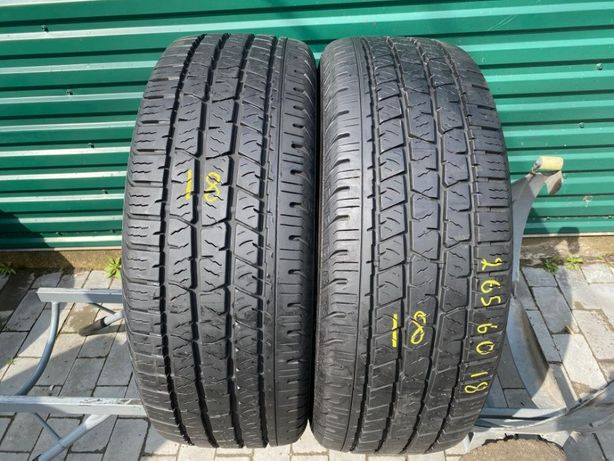 Шини літо 265/60R18 Continental Cross Contact 2шт 8,5мм 18рік