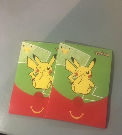 Mcdonalds Pokémon Boosters Selados