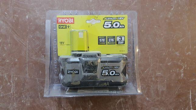 Akumulator 18V Ryobi one+ 5 Ah 5.0 RB18L50