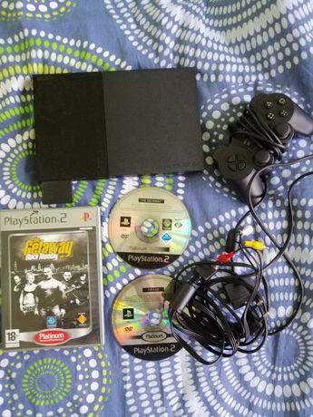 Konsola ps2 PlayStation 2 3 pady