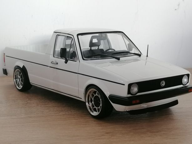 Volkswagen Caddy mk1 Ats black german style 1 :18